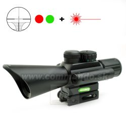 Kolimátor 4x30 + Laser Accurate JGBGM7 Scope Dot Sight  21mm