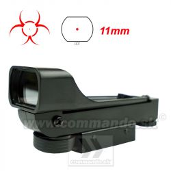 Kolimátor Perfect Red Dot 11mm Dot Sight Zombie Hunter