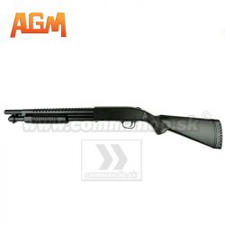 Airsoft ShotGun AGM Mossberg 500 Long MP003A 6mm