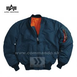 Alpha Industries Bunda MA-1 Flight Jacket  Replica Blue