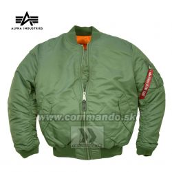 Alpha Industries Bunda MA-1 Flight Jacket  Sage Green