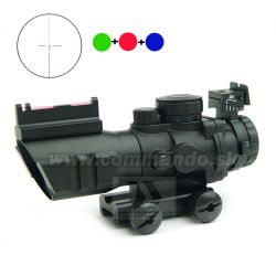 Kolimátor 4x32 Compact Scope Dot Sight Black 21mm