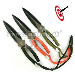 Vrhacie nôže JH Polar Bear 3 kusy Throwing Knives