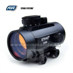 Kolimátor ASG Strike 1x40 Red Dot Sight 40mm