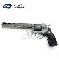 "Airgun Revolver Dan Wesson 8"" Grey GNB CO2 4,5mm"