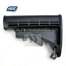 ASG Pažba Retractable Stock M4 M16 Nylon + Fiberglass