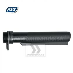 ASG Stock Tube M15 M4  Full Metal Black