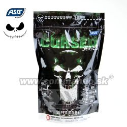 ASG Cursed Series 0,25g 1kg 4000ks BB guličky White 6mm