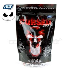 ASG Cursed Series 0,28g 1kg 3600ks BB guličky White 6mm