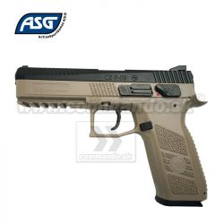 2174daf40 Airgun Pistol Vzduchovka CZ P-09 DT FDE DUTY CO2 GBB 4,5mm