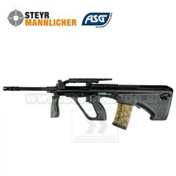Airsoft Rifle STEYR AUG A2 Black Mannlicher Proline AEG 6mm