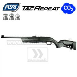 Airgun Rifle Vzduchovka ASG TAC Repeat CO2 GNB 4,5mm