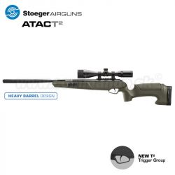 Vzduchovka Airgun STOEGER ATAC T2 Combo Synthetic 4,5mm