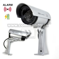 Security Dummy IR CCD Camera Atrapa na baterky