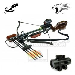 Crossbow Kuša Jaguar Recurve Top 175 Lbs Dot Sight Wood