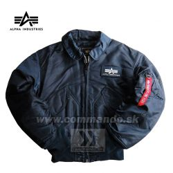 Alpha Industries Bunda CWU 45/P Flight Jacket  Replica Blue