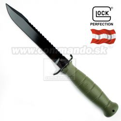 Bojový nôž Dýka Glock Model FM 81 Field Green 39181 Tactical Knife