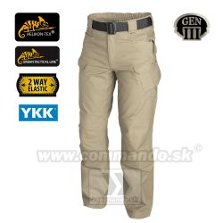 Helikon Tex  Urban Tactical Pants Khaki UTL polycotton nohavice