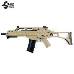 Airsoft JG G608 G36C V2 Tan Desert AEG 6mm