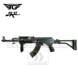 Airsoft JG AK-47 JG0515MG Tacical Folding Stock AEG 6mm