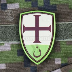 Crusader Shield - Multicam 3D nášivka PVC