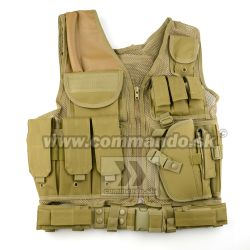 Taktická vesta KAM-39 Ultimate Tactical Tan