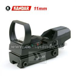 Kolimátor Kandar Open Type 11mm Dot Sight