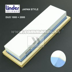 Linder Japan Type Duo 1000/2000 Brúsny kameň 200x60x30mm