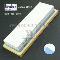 Linder Japan Type Duo 1000/3000 Brúsny kameň 200x60x30mm