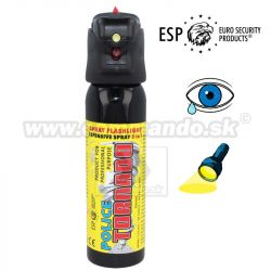 Obranný slzný sprej ESP Police Tornado LED Light Pepper Spray 100 ml