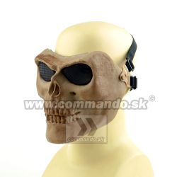 Airsoft Maska Skull Style Tan Tactical Ultimate