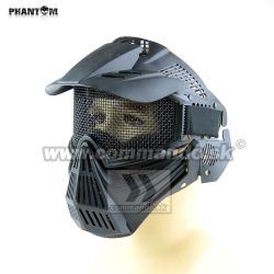 Airsoft Mask Phantom Black čierna Guardian V1