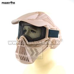 Airsoft Mask Phantom Desert piesková Guardian V1