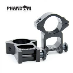 Phantom Rifle Scope Rings Ø 25,4mm High Montážne krúžky 21mm