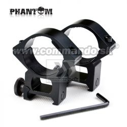 Phantom Rifle Scope Rings Ø 30mm High Montážne krúžky 21mm