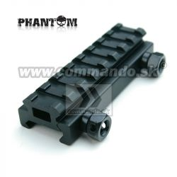 Phantom Low Rail Extension Metal Mount Base