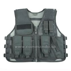 Taktická vesta Strike Systems Tactical Recon Black