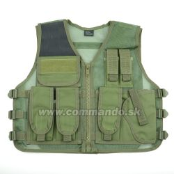 Taktická vesta Strike Systems Tactical Recon Green