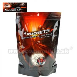 Rockets Profesional 0,28g 1kg 3570ks BB guličky White 6mm