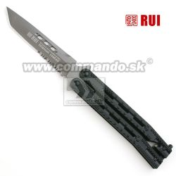 RUI Tactical Folding Knife ButterFly Tanto 36215 zatvárací nôž