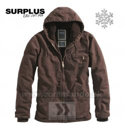 Surplus Stonesbury Jacket Brown Teplá bunda