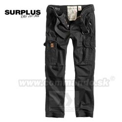 Surplus Premium Slimmy Vintage Black nohavice
