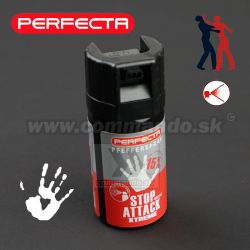 Obranný sprej Perfecta Pepper Stop Attack Kaser 40ml
