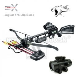 Crossbow Kuša Jaguar Recurve Top 175 Lbs Dot Sight Black