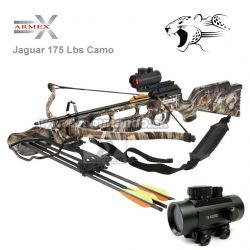 Crossbow Kuša Jaguar Recurve Top 175 Lbs Dot Sight 3D Camo