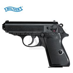 Airsoft Pistol Walther PPK/S Metal Slide Black ASG 6mm