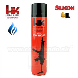 Airsoftový Plyn Heckler&Koch 600ml High Power green Gas
