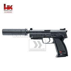 Airsoftová pištoľ Heckler&Koch HK USP Tactical Metal Slide AEP 6mm