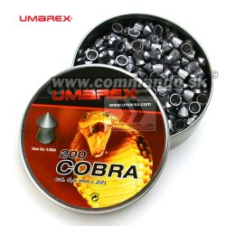 Umarex Diabolo Cobra 5,5mm (.22) Pointed pellets Ribbed
