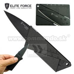 Zatvárací nôž kreditka Elite Force EF Mission Knife MKS